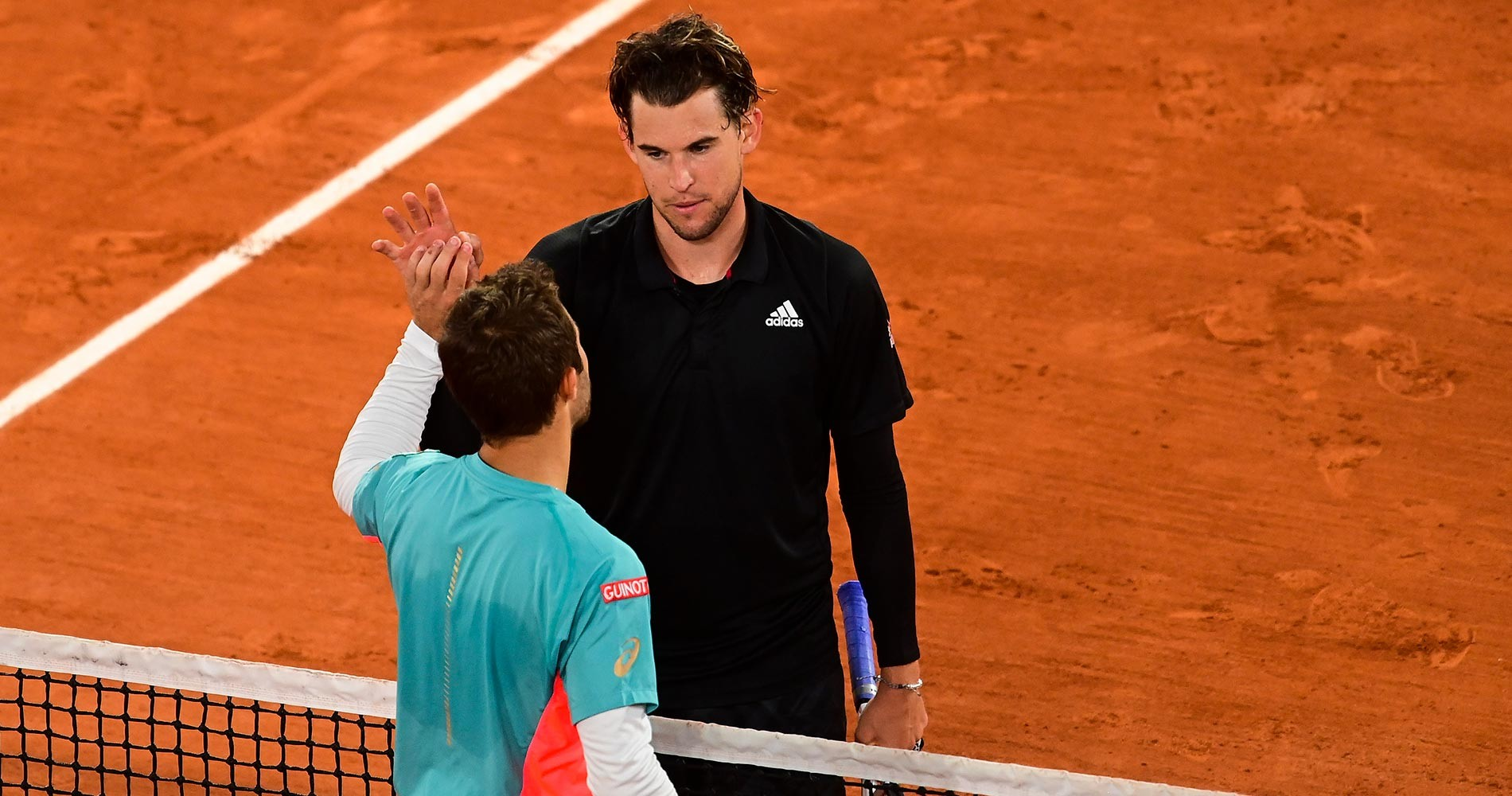 Thiem and Gaston, Roland-Garros 2020