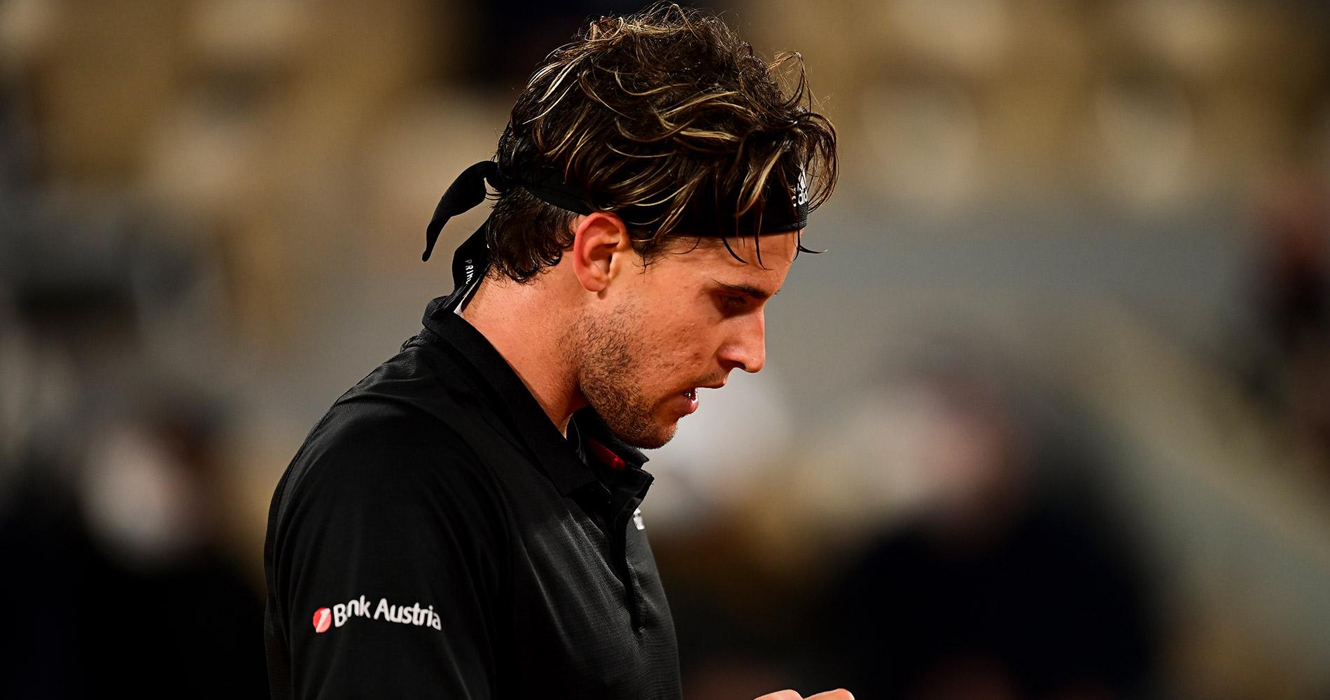 Dominic Thiem at Roland-Garros 2020 fourth round