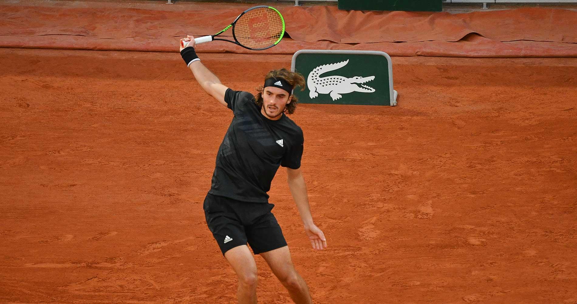 Tsitsipas at Roland-Garros 2020