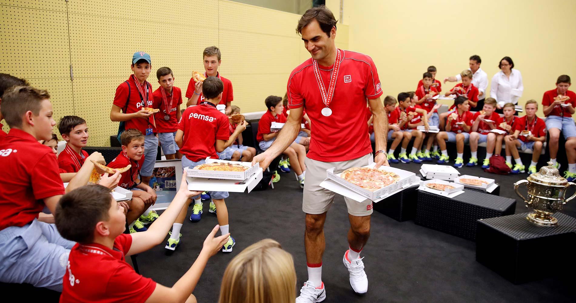 Federer at Basel 2019