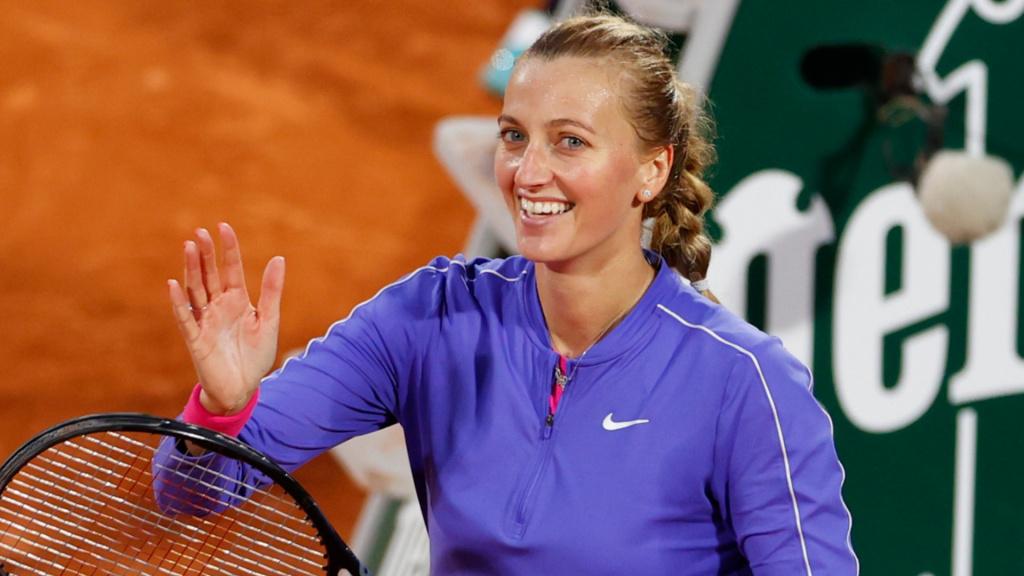 Kvitova French Open '20