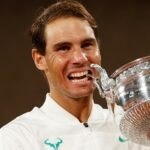 Rafael Nadal at the 2020 Roland-Garros