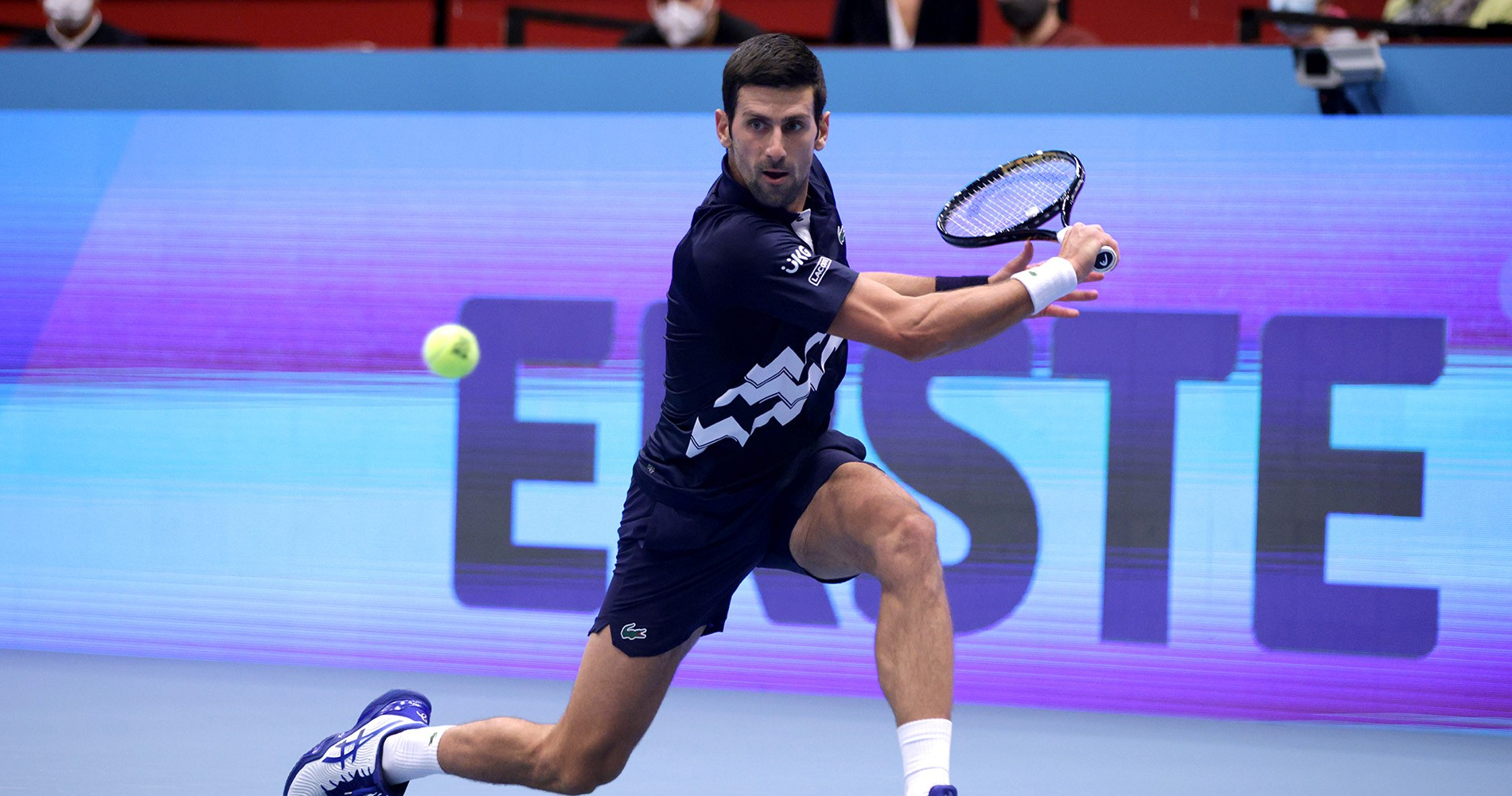 Novak Djokovic Vienna 2020