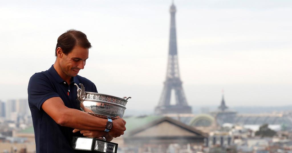 Nadal 2020 Roland Garros, Paris, France