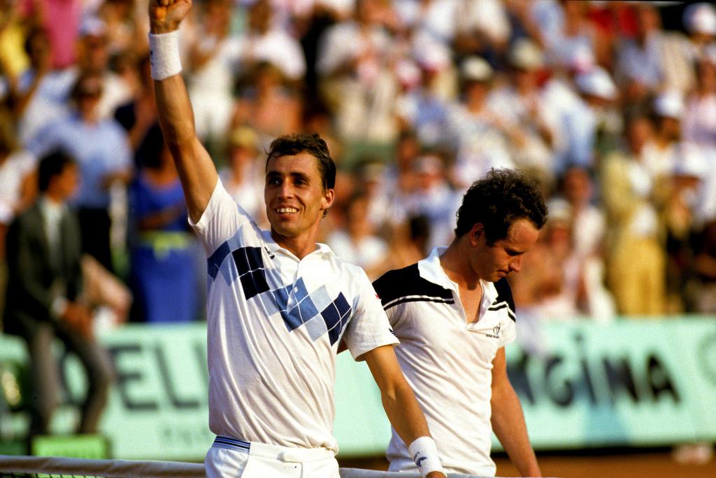 Ivan Lendl 1984 Roland-Garros