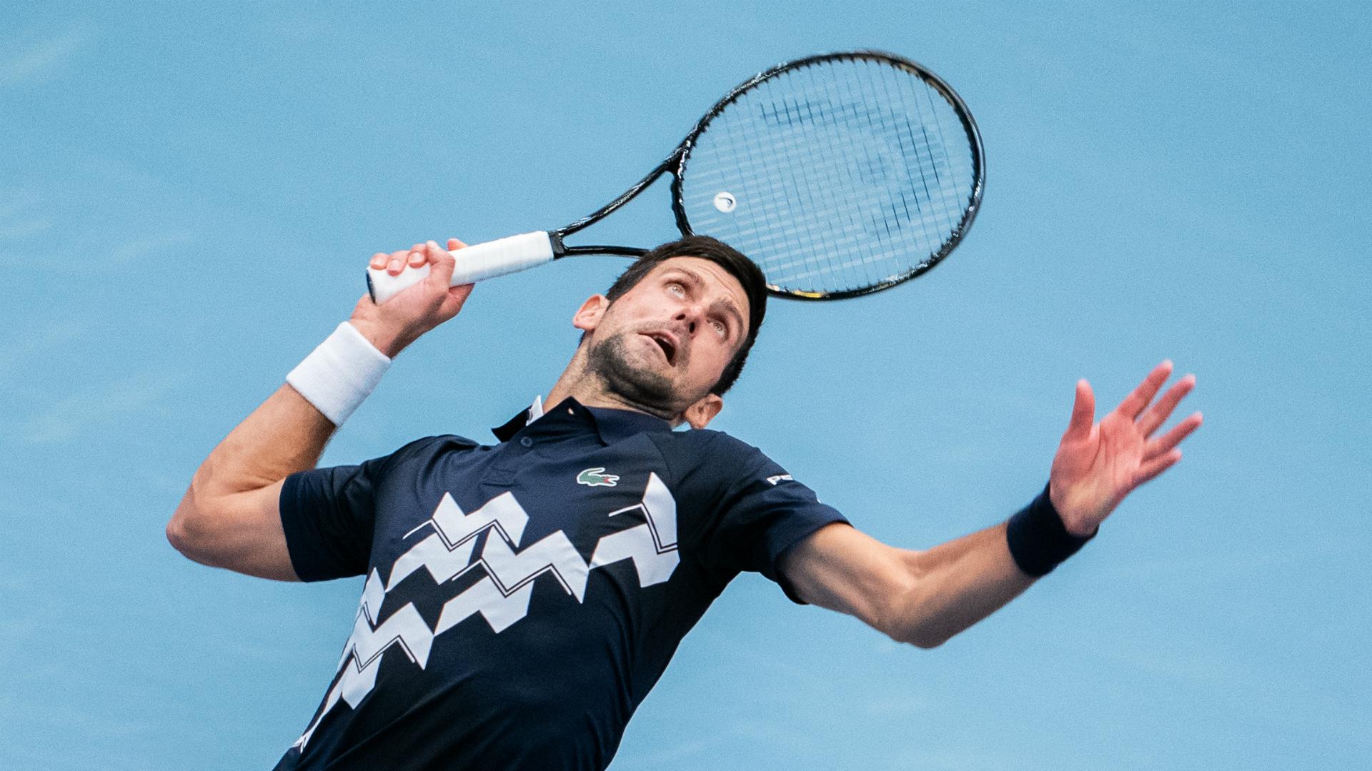 World No 1 Novak Djokovic