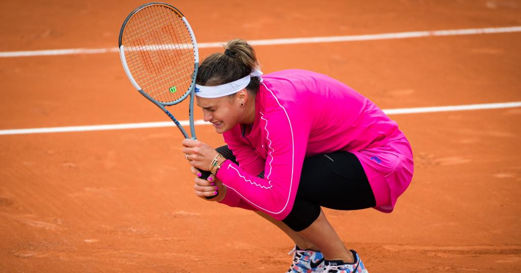 Aryna Sabalenka, 2020 Roland-Garros