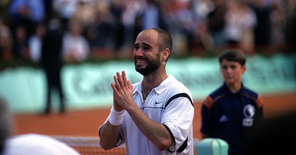 Agassi Roland Garros 1999