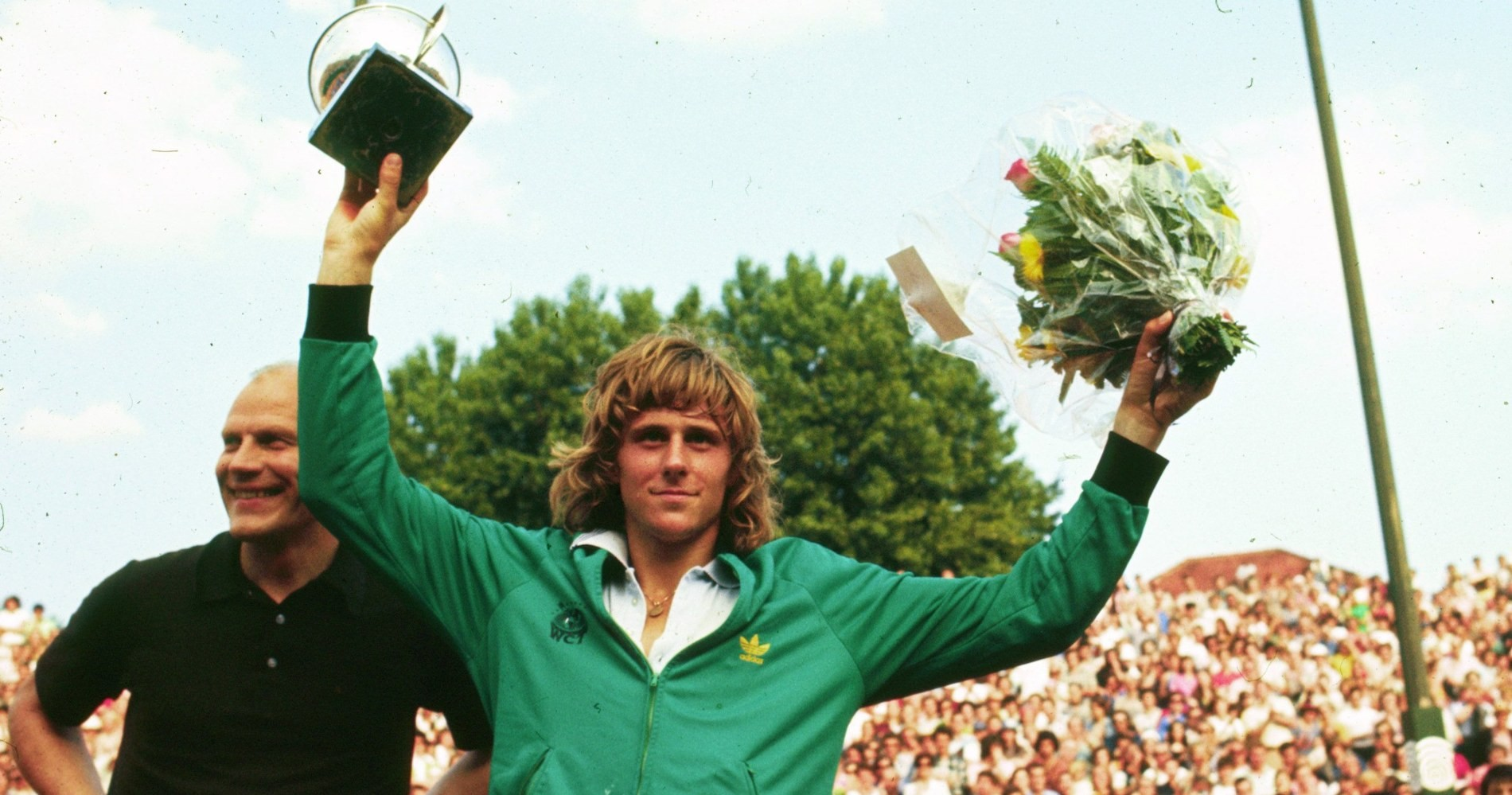 Bjorn Borg Roland Garros 1974