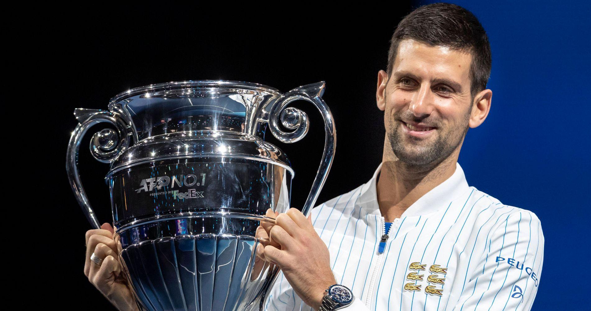 Novak Djokovic, Masters de Londres 2020