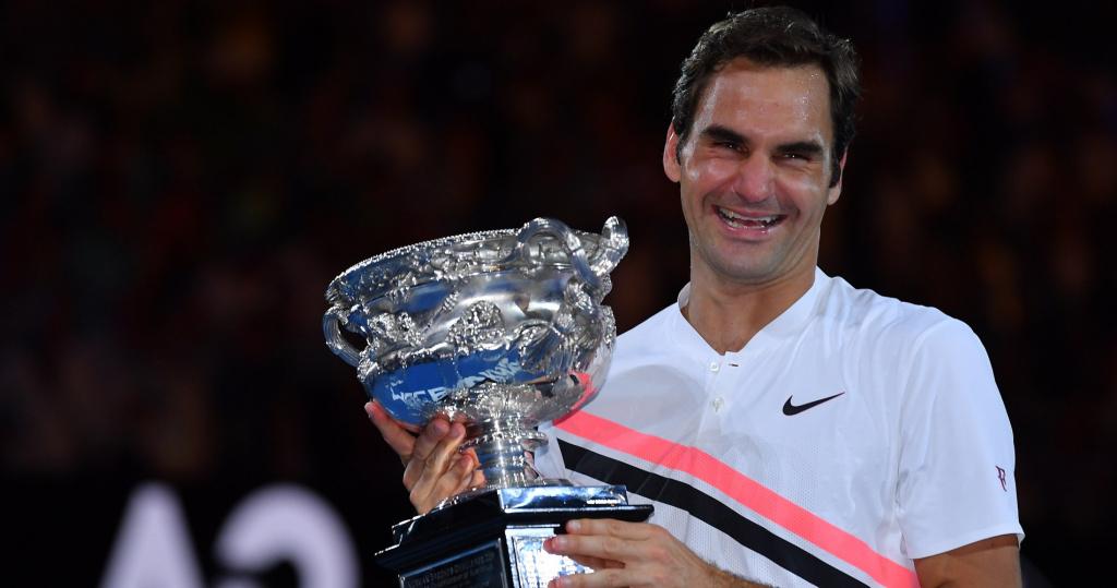 Federer Open Australie 2018