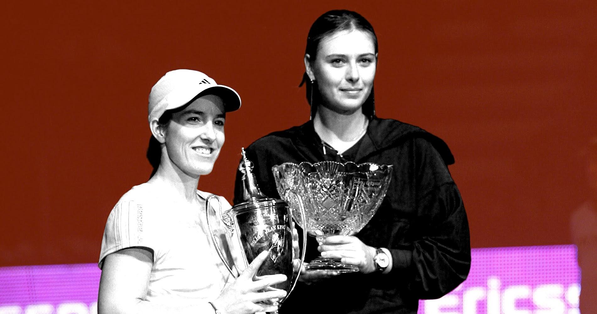 Justine Hénin et Maria Sharapova au Masters 2007
