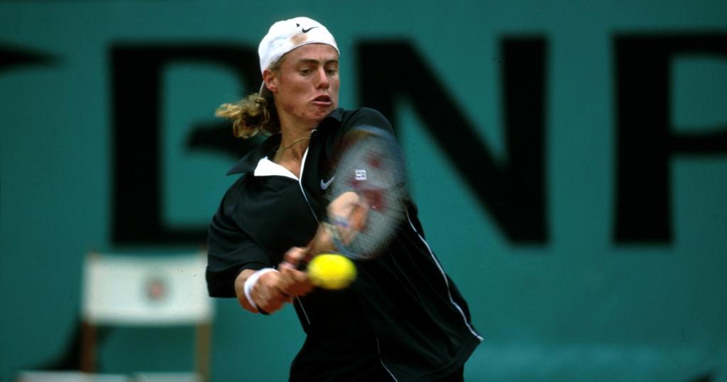 Hewitt Roland-Garros 2000