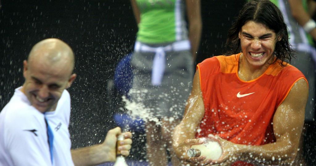 Ljubicic Nadal Madrid 2005