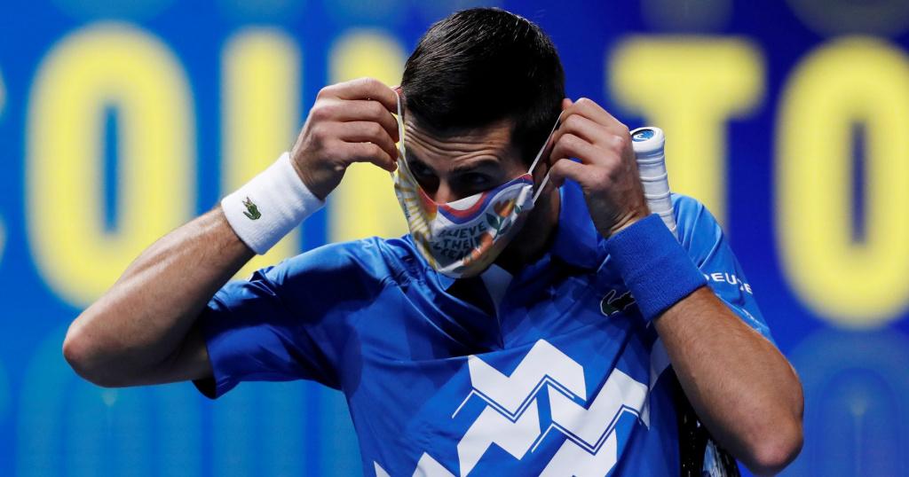 Novak Djokovic, Masters, 2020