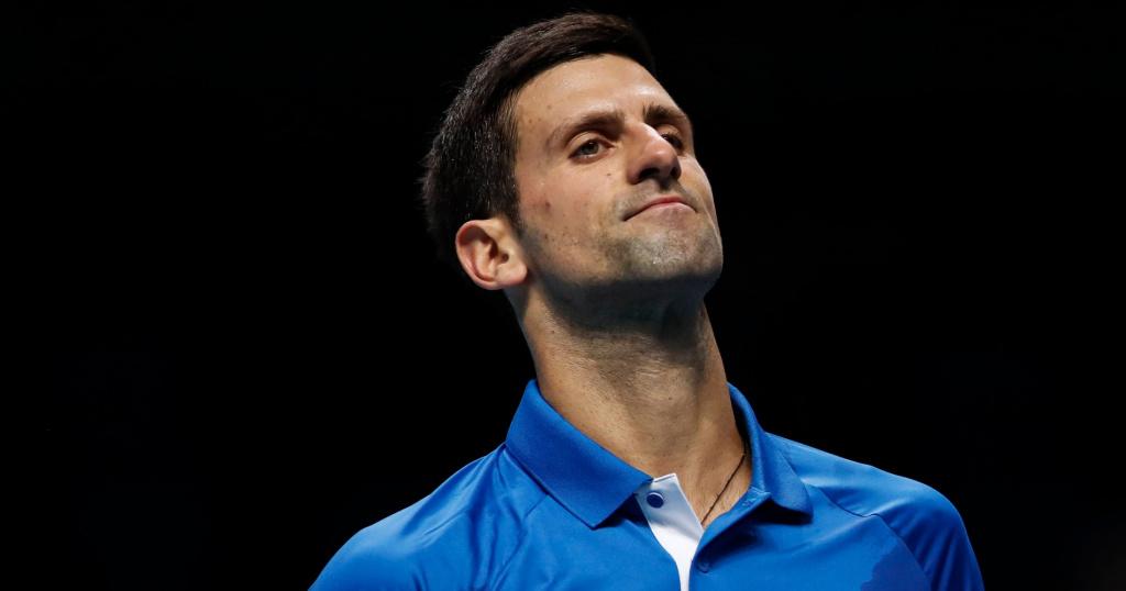 Novak Djokovic, ATP Finals, 2020