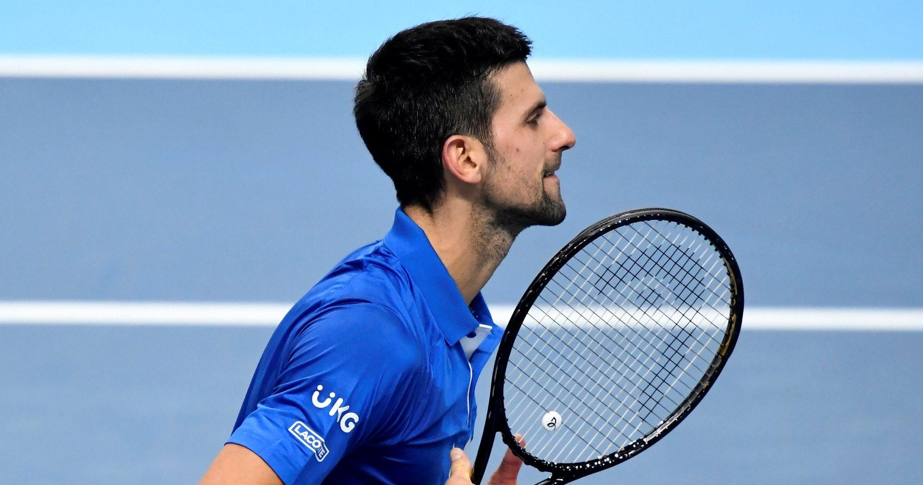 Novak Djokovic, 2020 ATP Finals