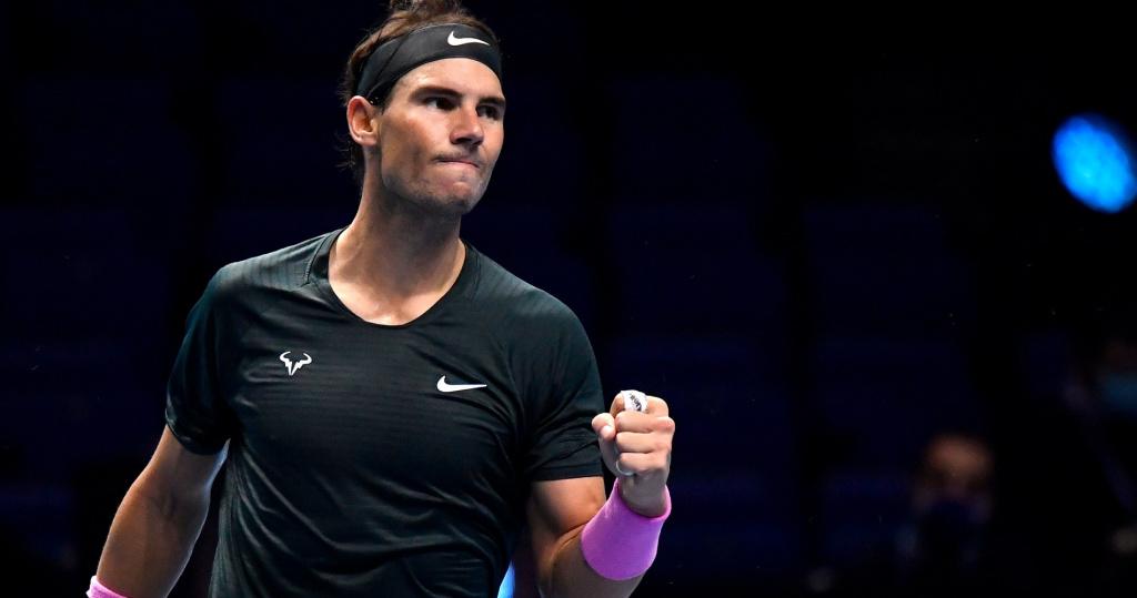 Rafael Nadal Nitto ATP Finals 2020