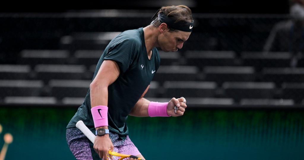 Rafael Nadal, Rolex Paris Masters 2020