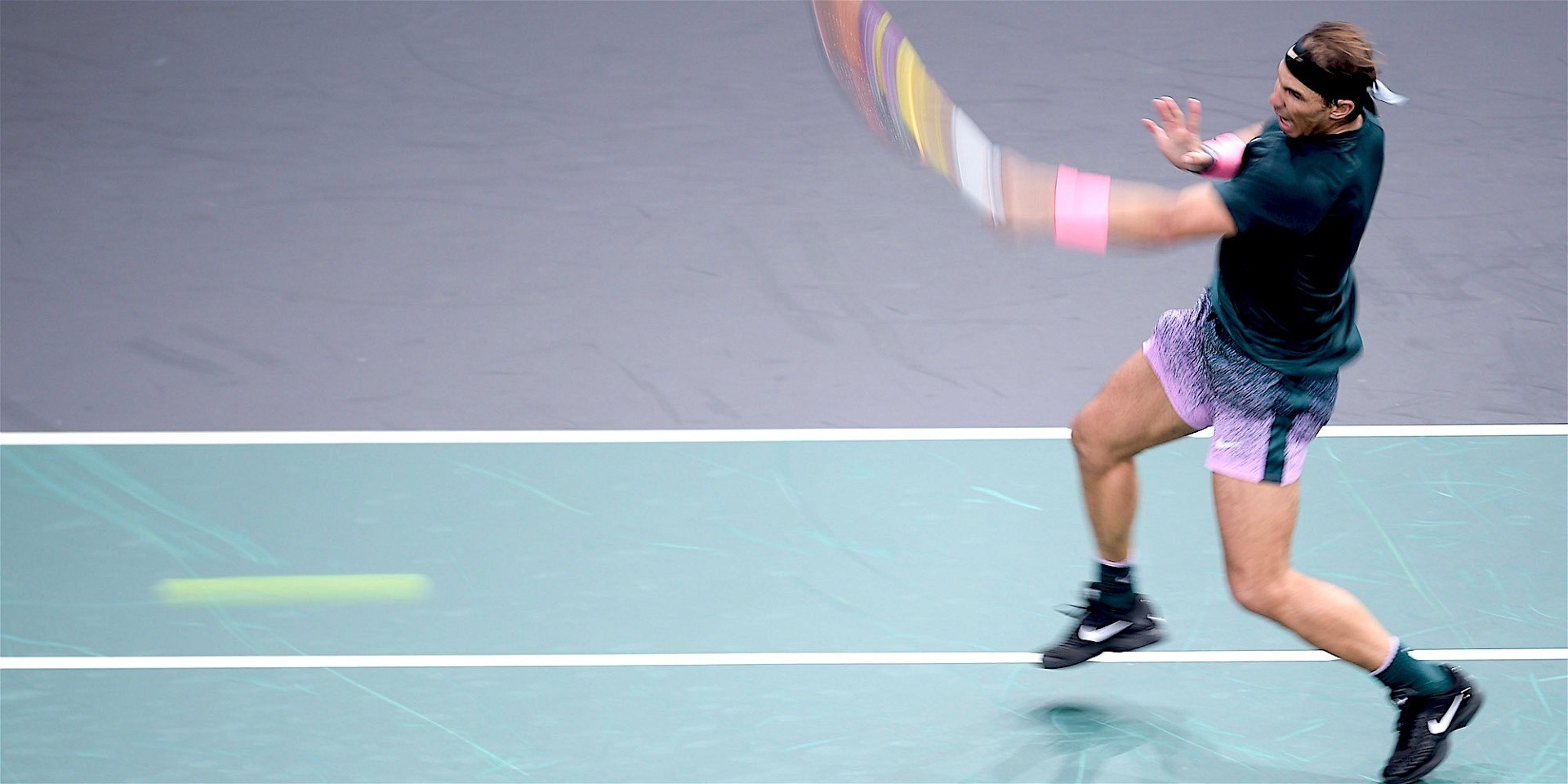 Rafael Nadal, Paris, nov. 2020