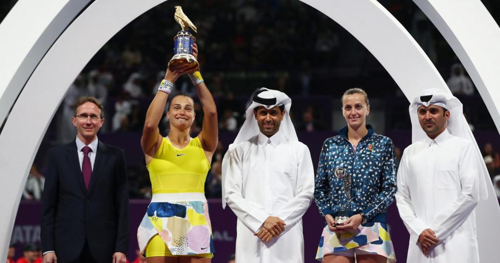 Aryna Sabalenka vs Petra Kvitova, 2020 Doha Final
