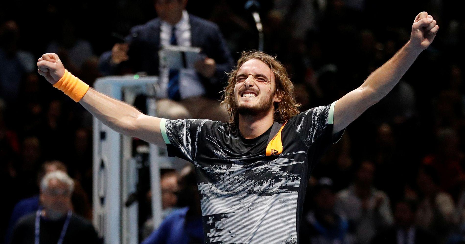 Stefanos Tsitsipas, ATP Finals, 2019