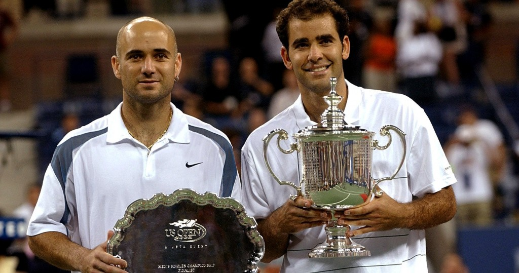 Sampras Agassi US Open 2002