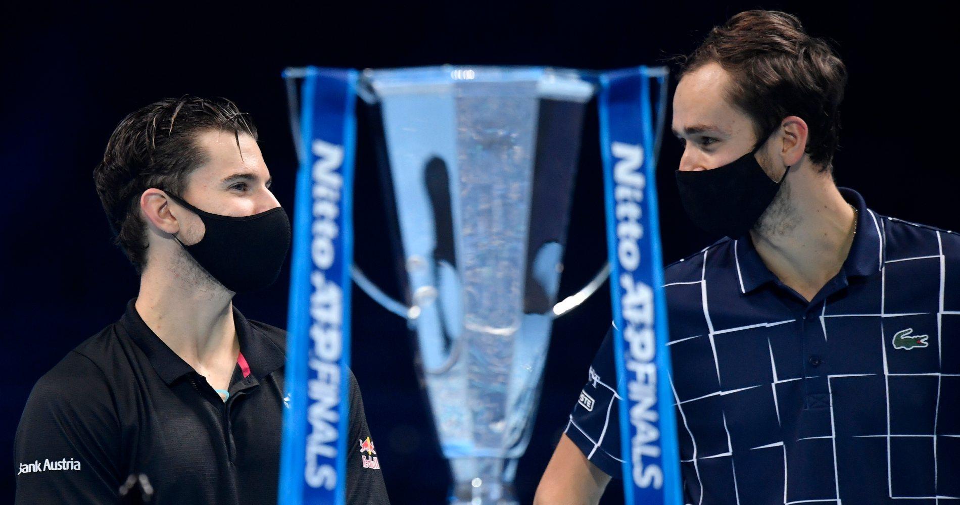 Dominic Thiem vs Daniil Medvedev, ATP Finals, 2020