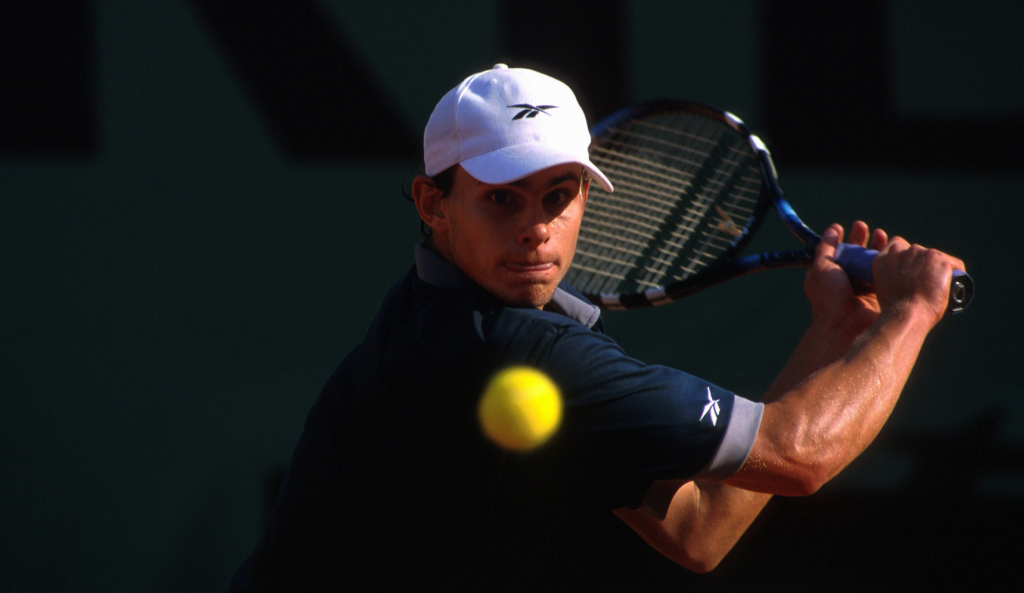 Andy Roddick - Roland-Garros 2001