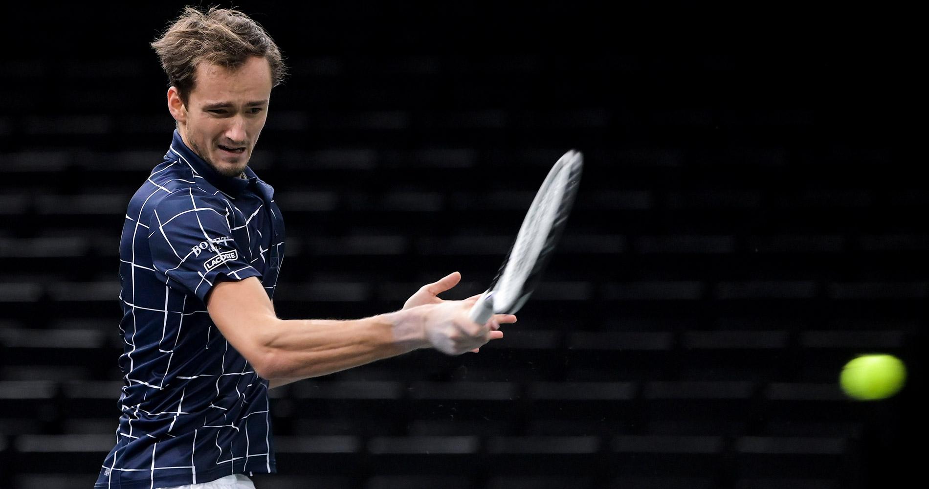 Daniil Medvedev at Paris Masters 2020