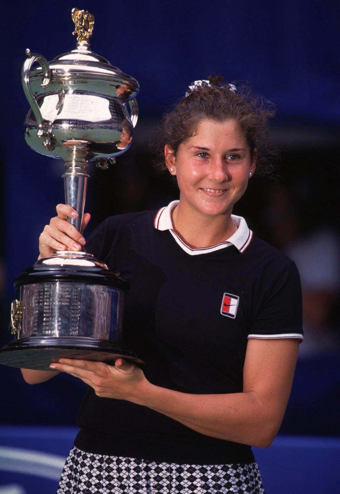 Monica Seles à l'Open d'Australie 1996