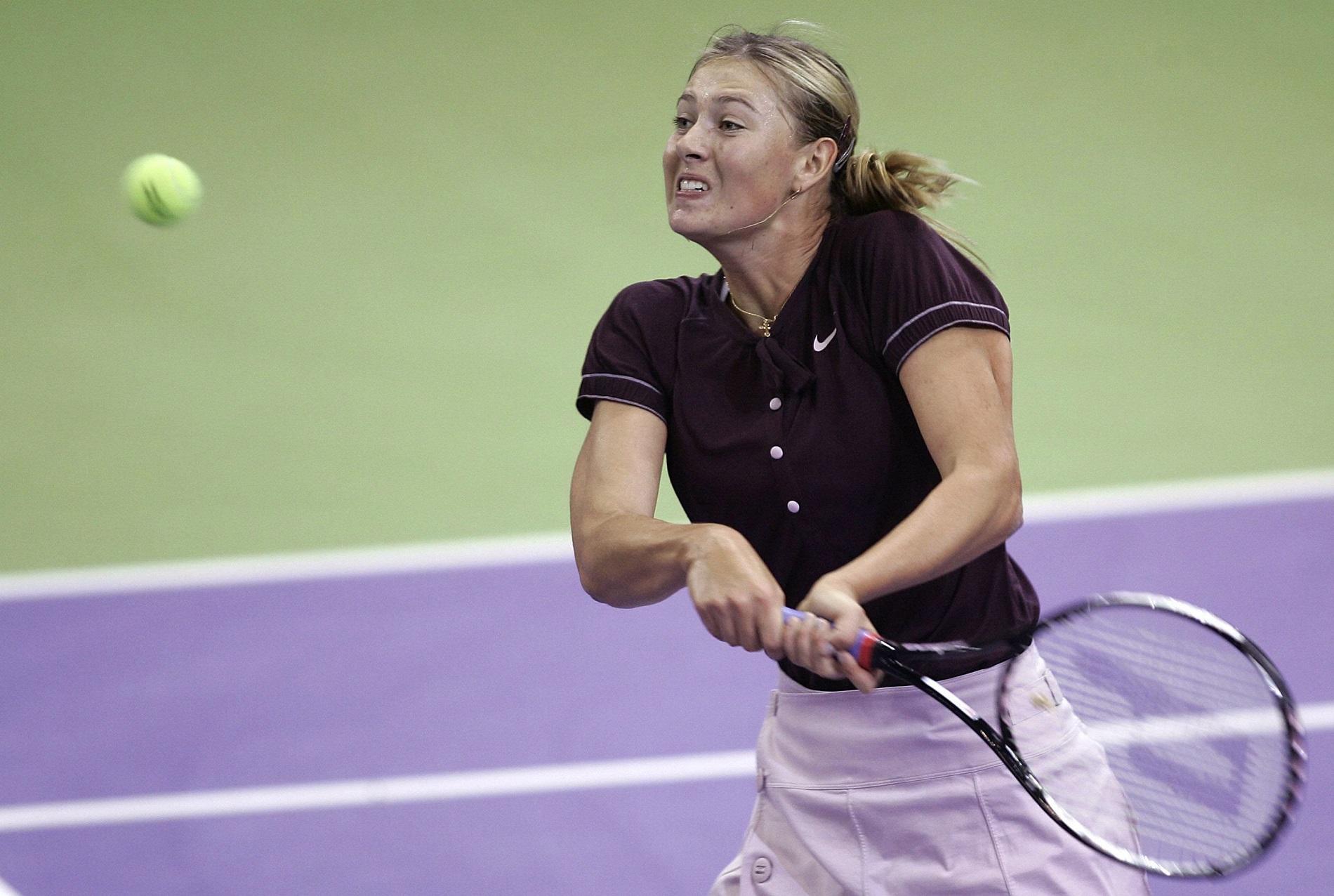 Maria Sharapova en 2007