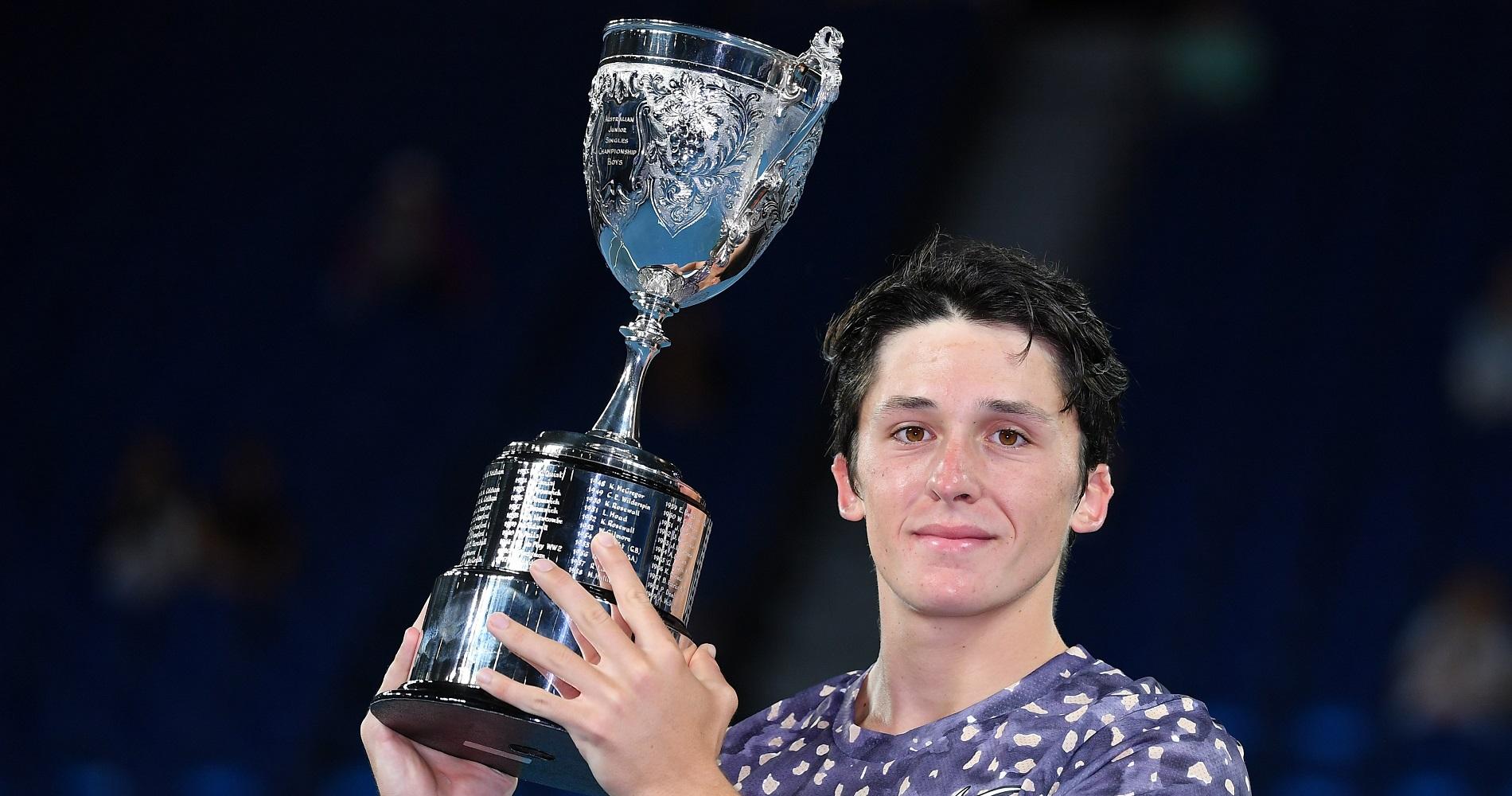 Open d'Australie Juniors, Harold Mayot