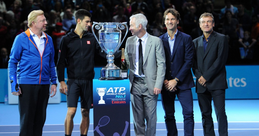 John McEnroe Nitto ATP Finals