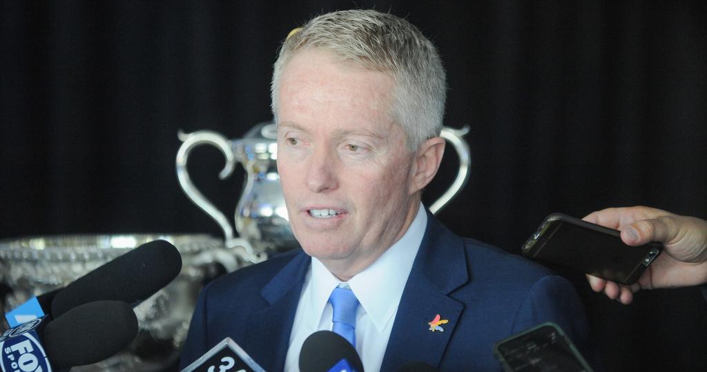 Craig Tiley, directeur de l'Open d'Australie