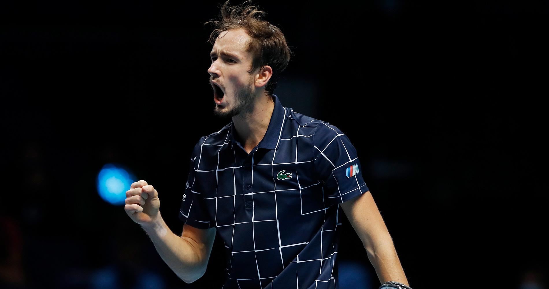 Medvedev ATP Finals Djokovic