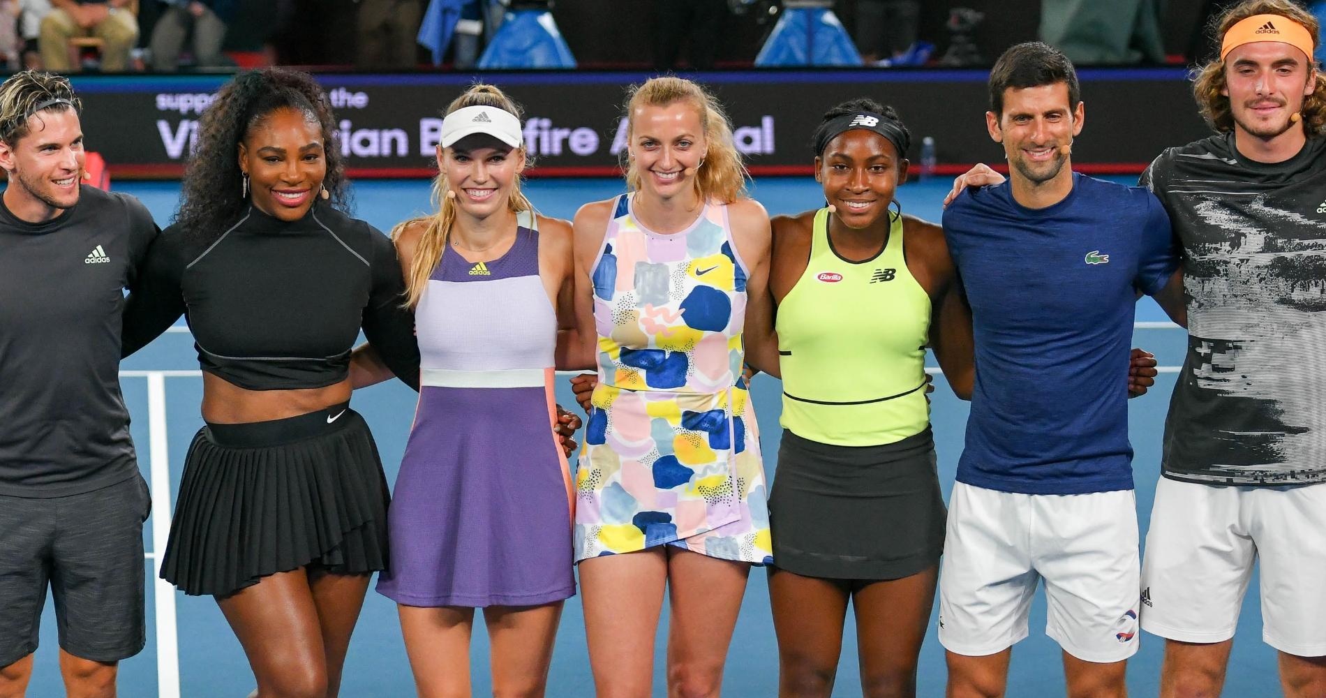 ATP and WTA stars