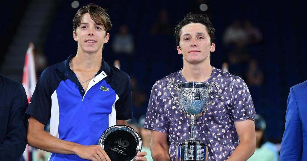 Arthur Cazeaux and Harold Mayot, 2019 Australian Open juniors