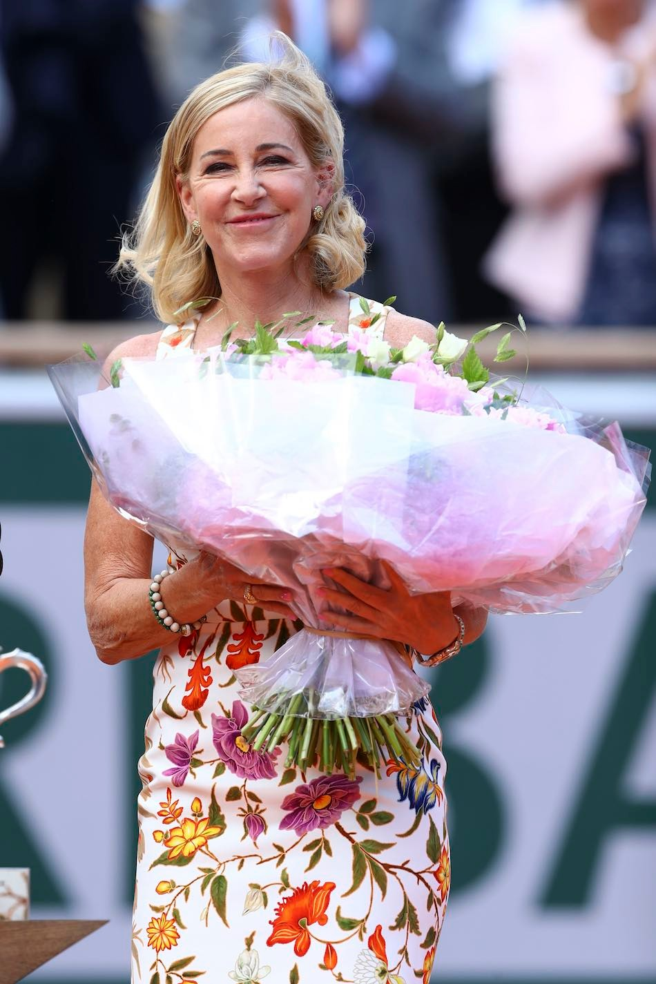 Chris Evert, Roland-Garros 2019