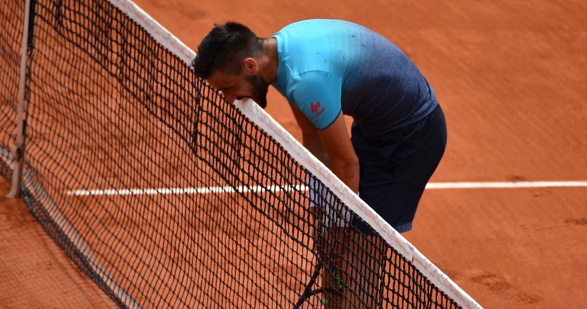 Damir Dzumhur, Roland-Garros, 2018
