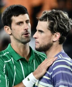Novak Djokovic & Dominic Thiem, 2020 Australian Open