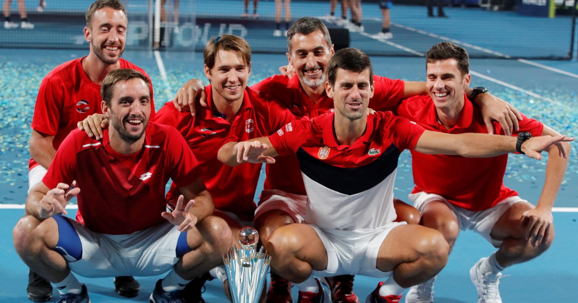 ATP Cup 2020, Serbie