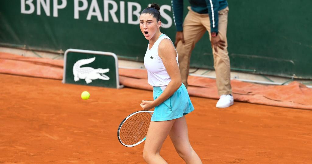 Elsa Jacquemot, Roland-Garros 2020