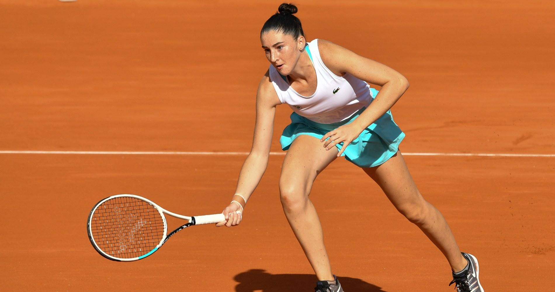 Elsa Jacquemot, Roland-Garros, 2020