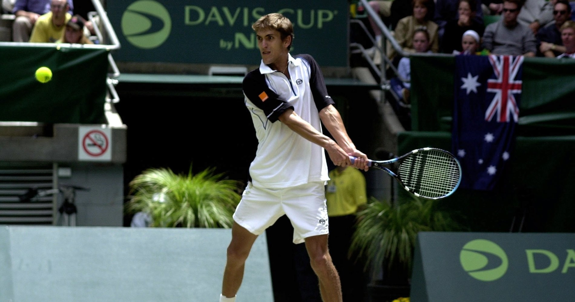 Nicolas Escudé, Finale Coupe Davis 2001