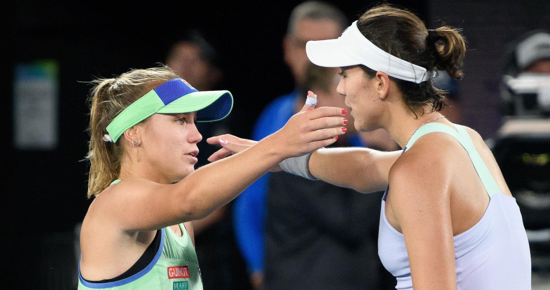 Australian Open final, 2020, Kenin and Muguruza