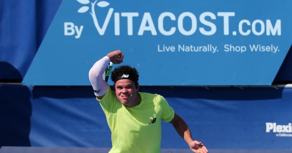 Milos Raonic, Delray Beach Open, 2020