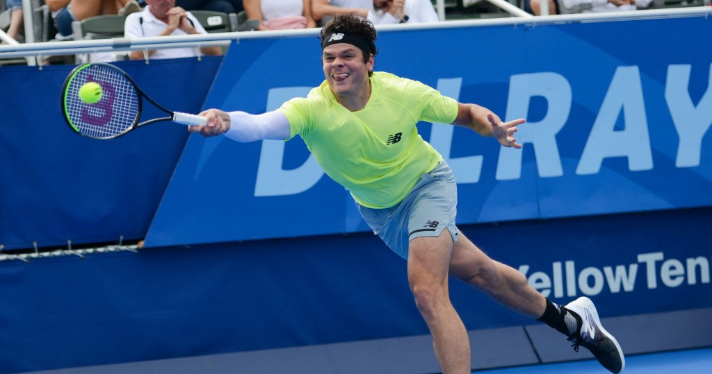 Milos Raonic, ATP Delray Beach 2020