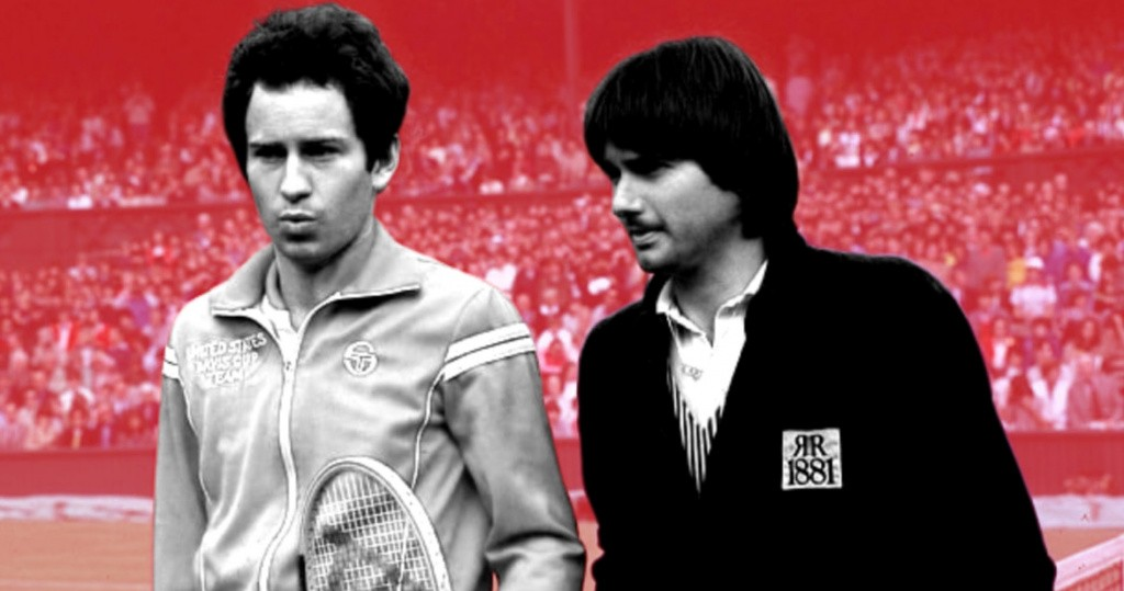 John McEnroe and Jimmy Connors