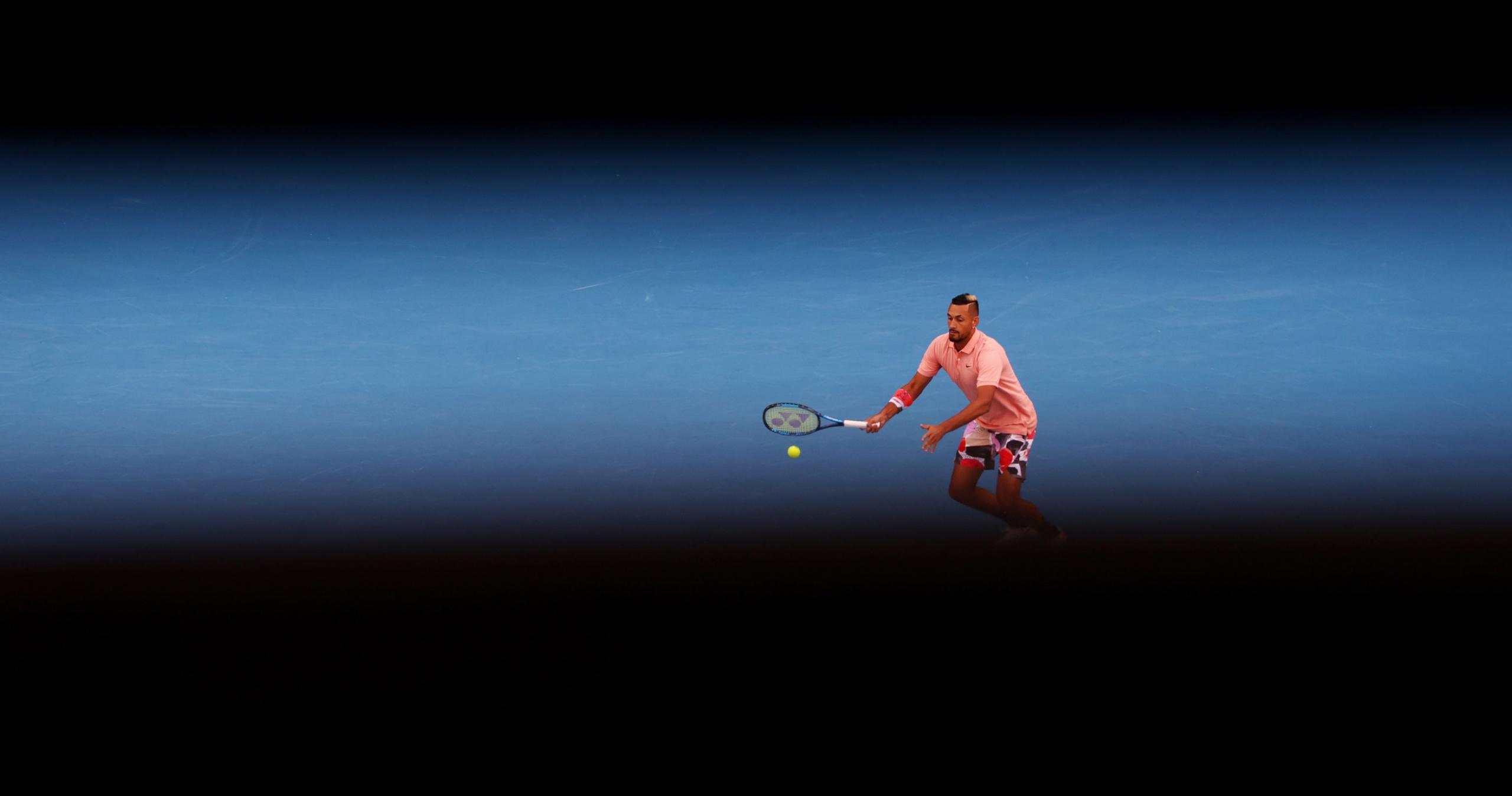 Nick Kyrgios, Australian Open, 2020